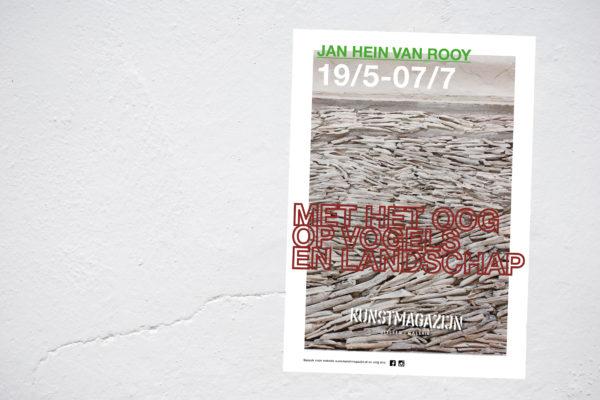 postermuur Jan Hein van Roooy